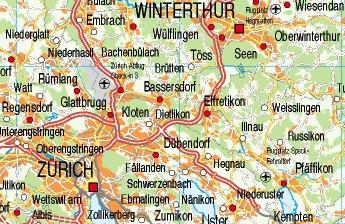 mapa carreteras suiza
