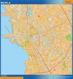 Mapa de Manila