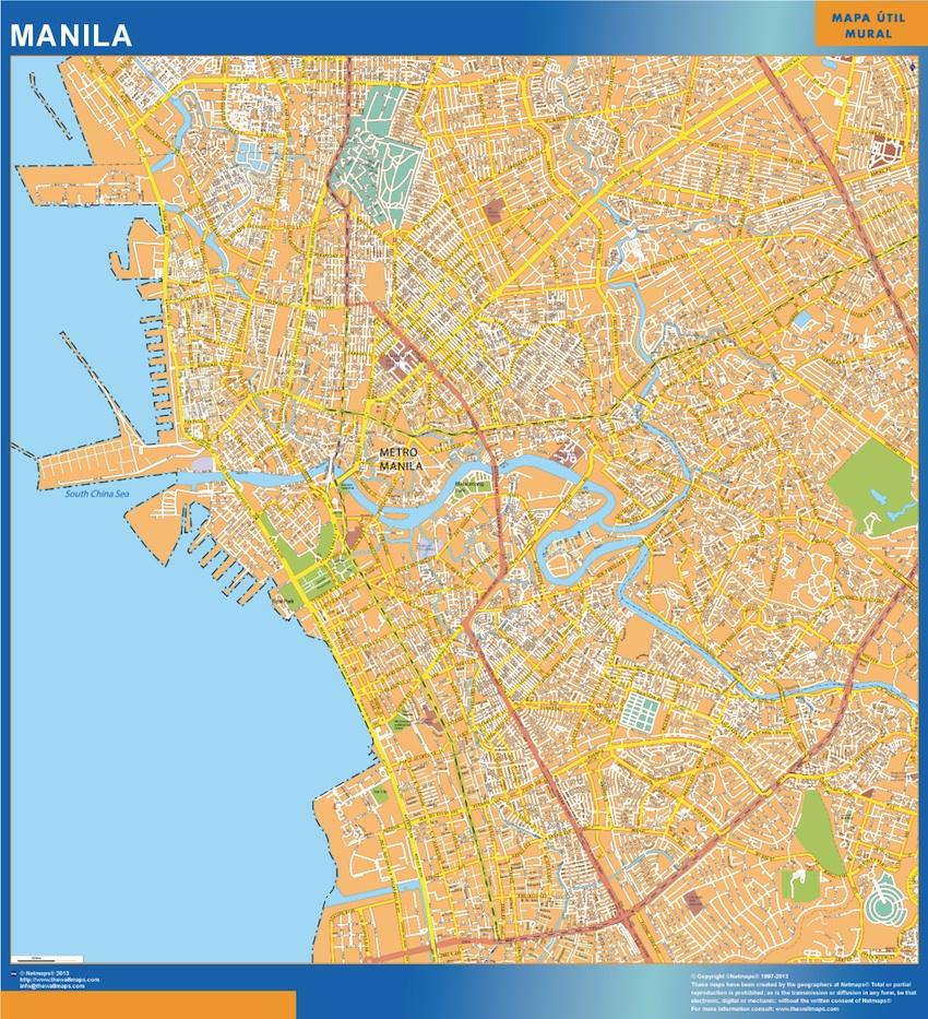 mapa manila