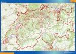 Mapa Suiza Carreteras