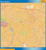Mapa Sao Paulo