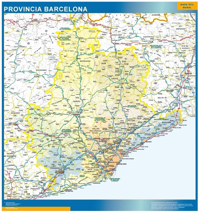 Provincia Barcelona Barcelona Provincia Comarcal