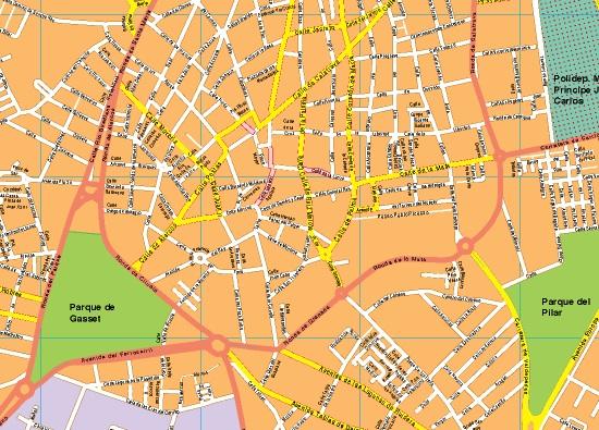 Mapas Ciudad Real | Mapas España y el mundo