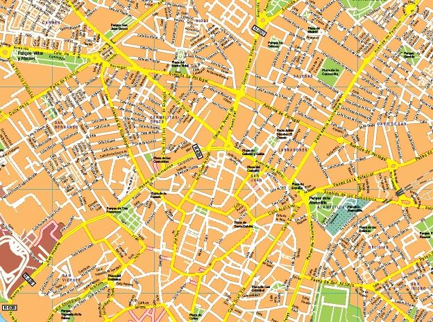Mapas salamanca for Codigo postal calle salamanca valencia