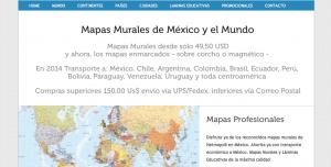 comprar mapas desde america