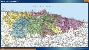 mapa asturias