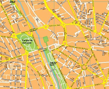 mapa centro leon