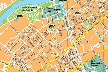Mapa valladolid mapas posters mundo y espa a for Codigo postal del barrio de salamanca en madrid