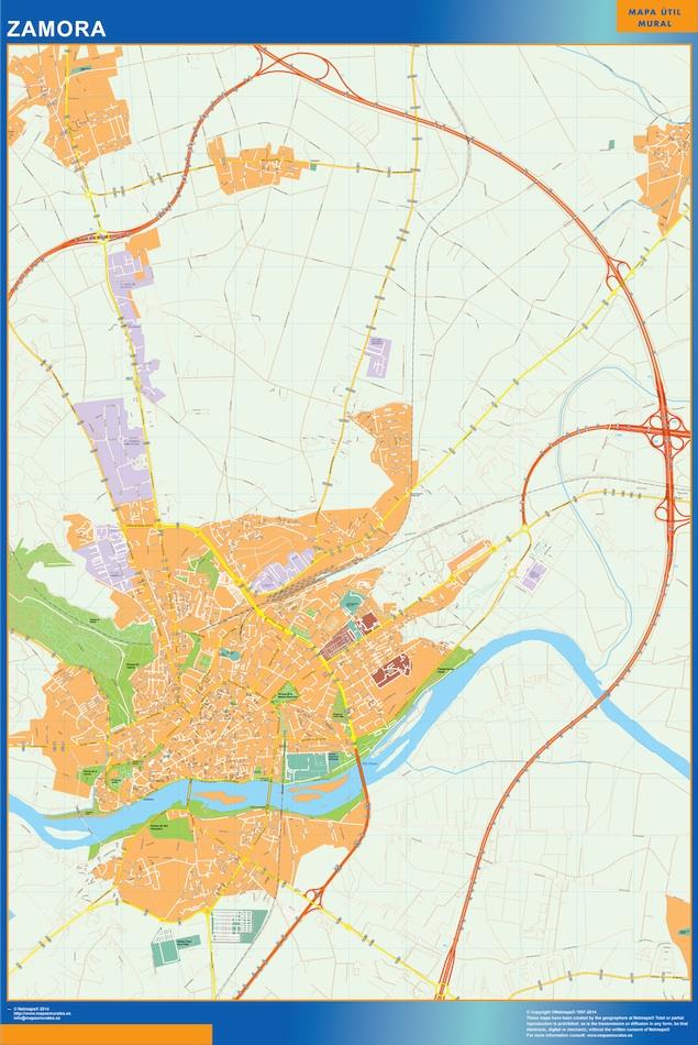 Mapa Callejero Zamora