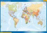 Mapa Mundo en Portugués