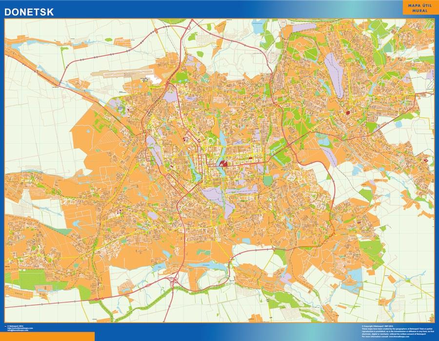 Donetsk map