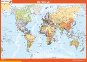 mapa mundo personalizado