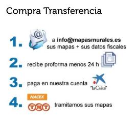 como comprar mapas transferencia bancaria