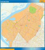 Mapa Asunción