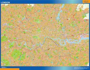 mapa callejero londres