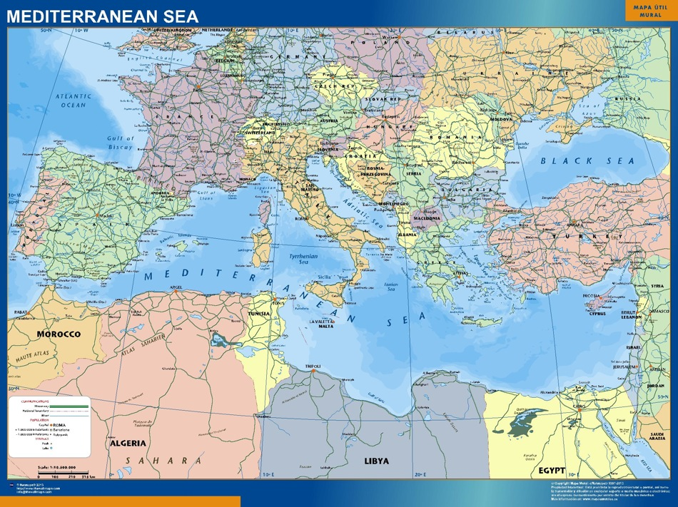 Mapa Todos Los Paises de Europa Todos Los Países de Tres