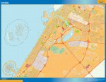 Mapa Dubai actualizado