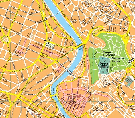 mapas bilbao