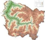 mapa valle aran