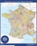 Comprar Mapa Francia Personalizado