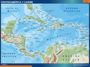 mapa Centro America