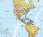 Ventas Mapas Pared América
