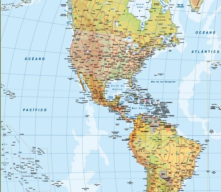venta mapas america