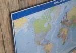 Mapas Corcho Chinchetas