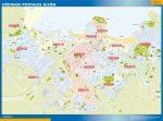 Mapa Gijón Códigos Postales