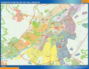 Valladolid codigos postales