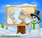 Comprar mapas en Navidad
