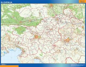 mapa eslovenia