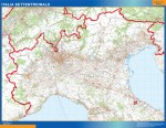 Mapas Regiones Italia