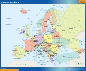 mapa europa politica