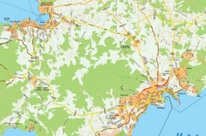 mapa ibiza