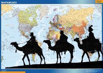 reyes magos mapas