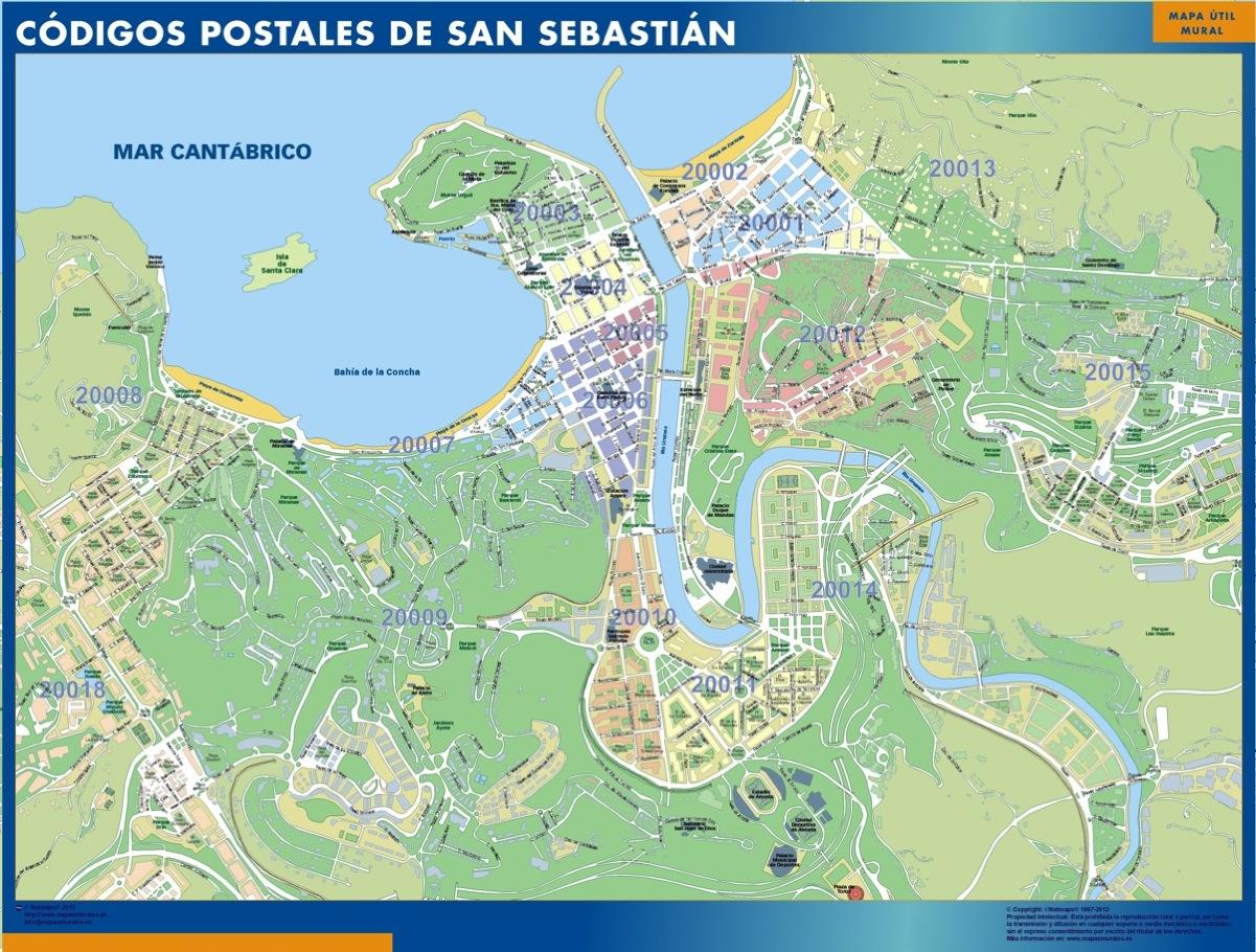 Códigos Postales San Sebastián