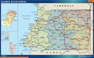 Mapa Guinea Ecuatorial