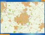 Mapa Coventry