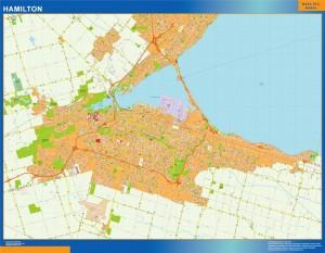 Mapa Hamilton