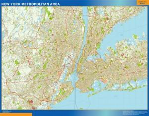 Mapa Nueva York Area
