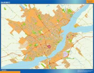Mapa Quebec
