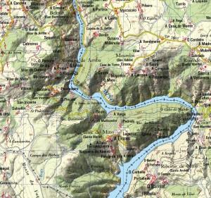Ribeira Sacra Mapa