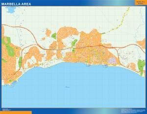 Mapa Marbella Area