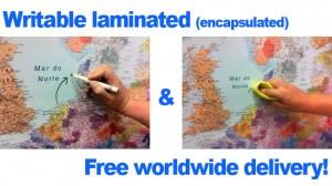 Mapas para escribir y borrar