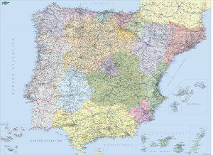 mapa Espana