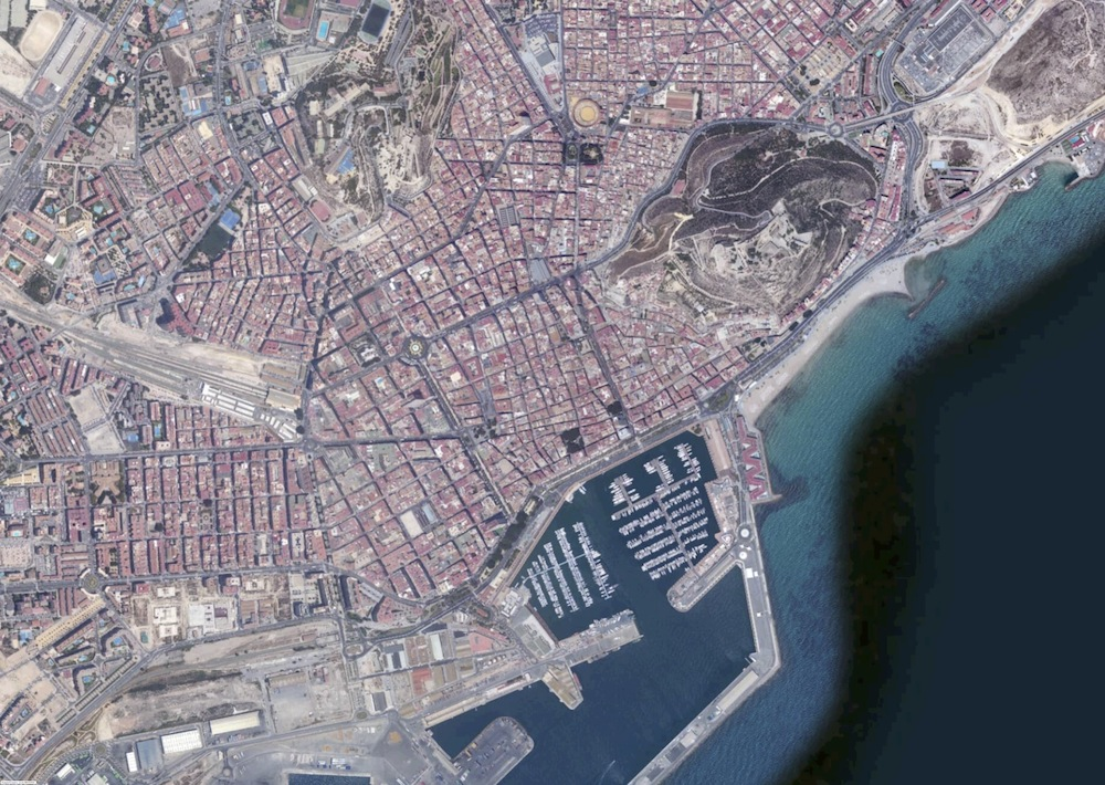 Alicante Foto Satelite