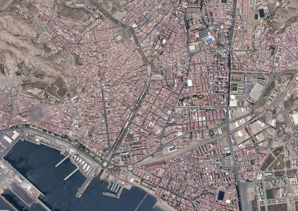 Almeria Foto Satelite