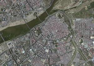 Badajoz Foto Aerea