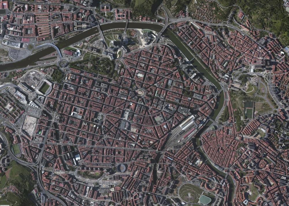 Bilbao Foto Aerea